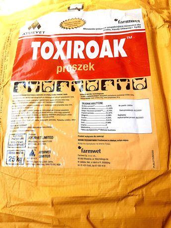 Toxiroak 25 kg - Najlepszy środek na mikotoksyny! Wysyłka Gratis!
