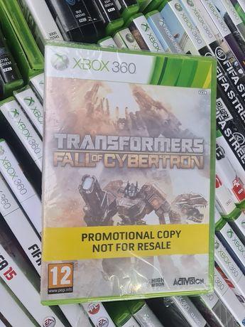 Folia nowa transformers Fall of cybertron Xbox 360 Stan idealny