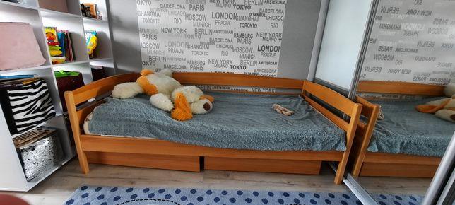 Продам кровать нотта плюс с двумя ящиками- дерево