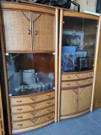 Móveis em bambu (2 unidades)