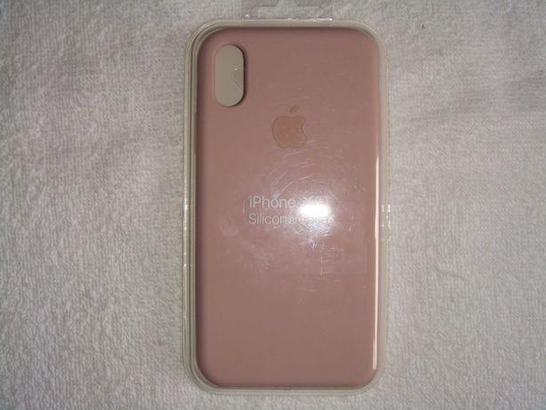Capa iPhone X APPLE Silicone (rosa)