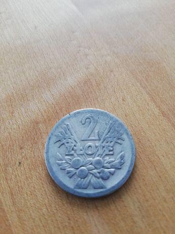 Sprzedam monetę o nominale 2zł z 1958r