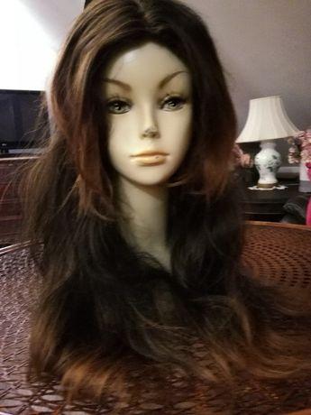 Peruka włosy słowiańskie naturalne lace front