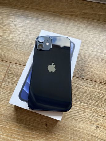 iPhone 12 Mini Gwarancja Czarny Black Apple Jak Nowy Fv