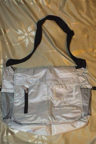Nowa torba szkolna młodzieżowa studencka do pracy na ramię elegancka
