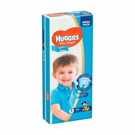 Памперсы Huggies Ultra Comfort для мальчика (56 шт), р. 5