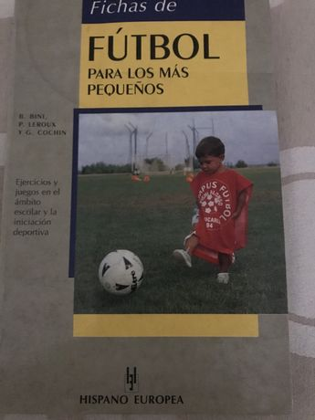 """Livro Técnico """"Fichas de Fútbol para los más pequenos"""""""