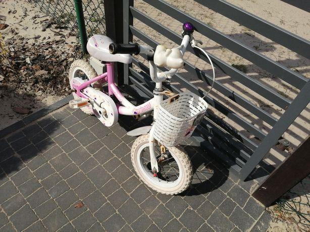 Rower 12 cali dla dziewczynki