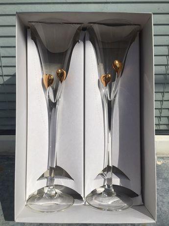 Бокалы для шампанского 2шт.