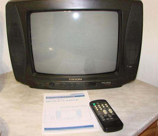 Телевизор орион в нормальном состоянии.