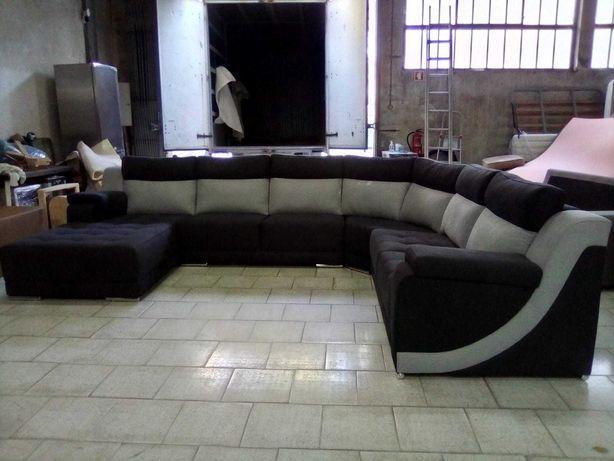 Sofá canto Tejo novo sofá vintage novo