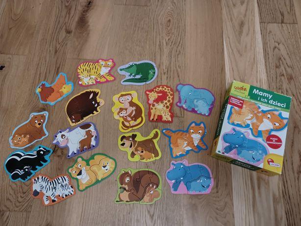 Puzzle dziecięce niemowlęce mamy i ich dzieci carotina