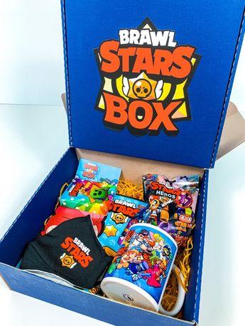 Brawl Stars Box - подарок вашему ребенку! Игрушка, чашка Бравл Старс