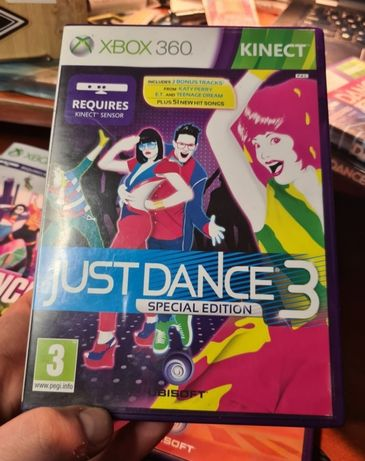 Just Dance 3 Special edition Xbox 360 kinect unikat