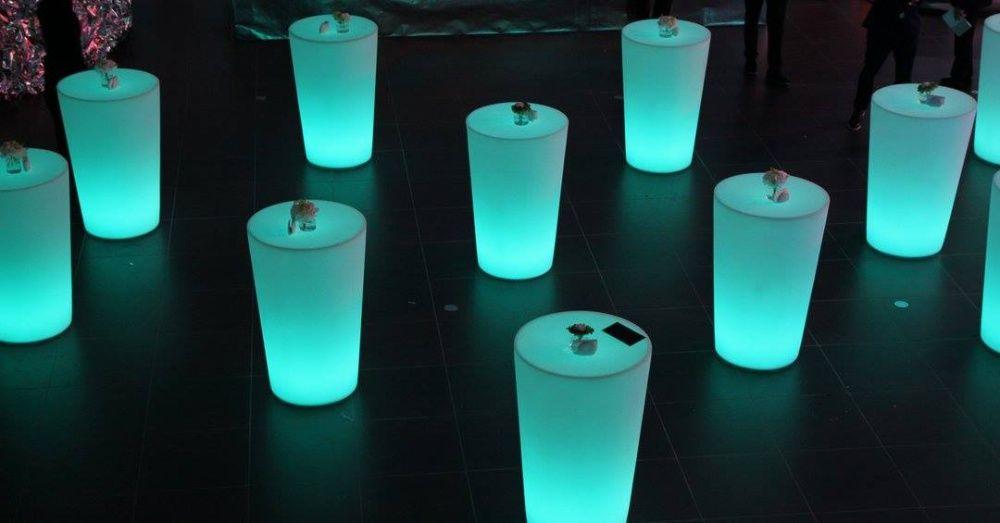 Mobiliario led luz Mobiled
