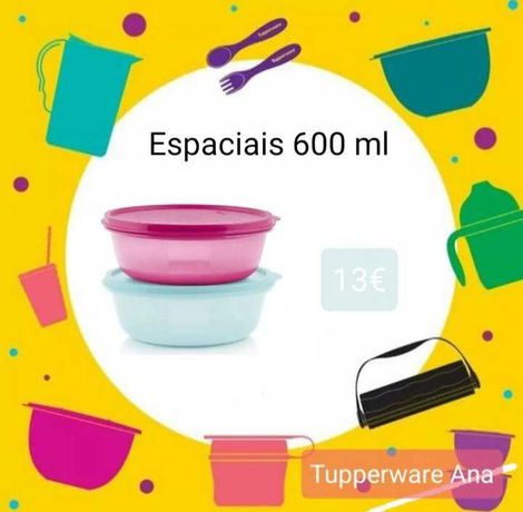 Tupperware - Tigelas Espaciais