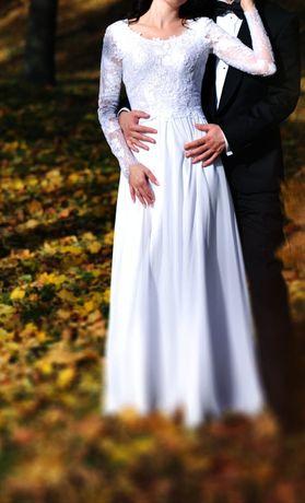 Piękna suknia Ślubna, unikalna!