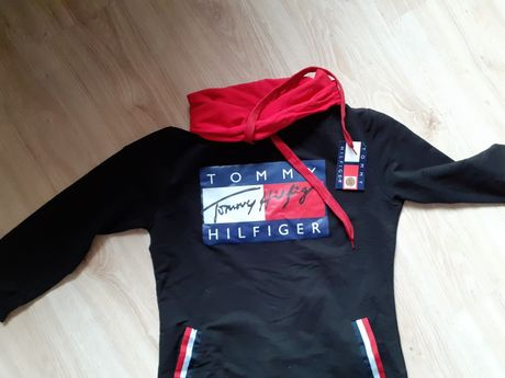 Bluzo tunika Tommy Hilfiger roz S nowa
