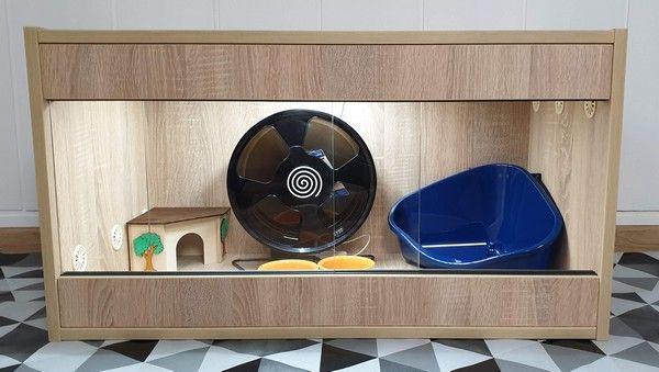 Terrarium dla jeża, terrarium 90x45x45 wysylka