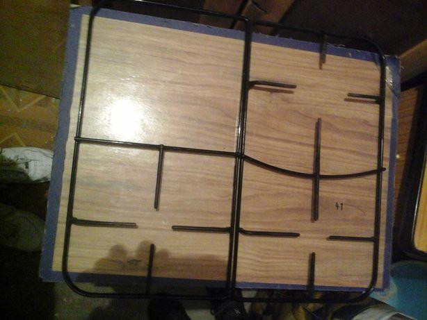 Ruszt kuchenki gazowo-elektrycznej, dwuczęściowy 2 części 25 x 45 cm