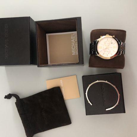 Zegarek + bransoletka Michael Kors