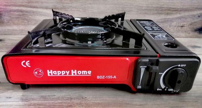 Kuchenka Turystyczna Ceramika HAPPY HOME + 4X GAZ GRATIS