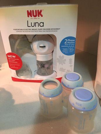 Bomba tira leite elétrica Nuk Luna