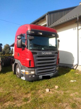 Scania R380 pod zabudowę