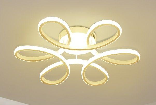 Люстра LED Liana Muse WH 60W 3000-6500К с пультом д/у