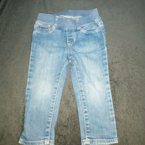 Spodnie jeans 86 chłopięce