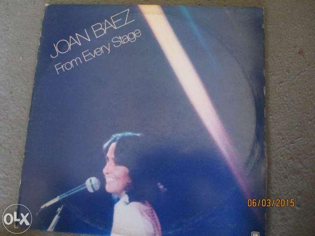 Vinil de Joan Baez - 5 discos (1 duplo)