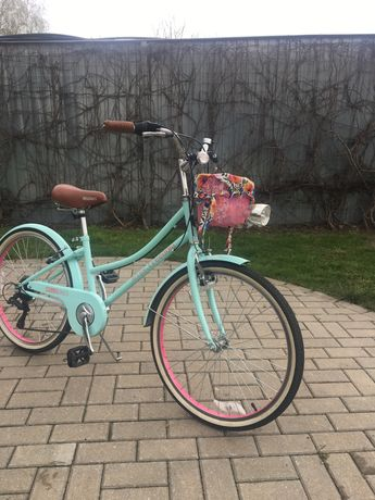 Rower dla dziewczynki 24 cale