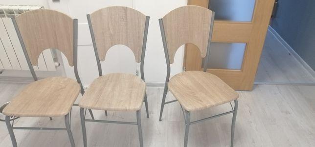 Krzesła 3 sztuki jysk