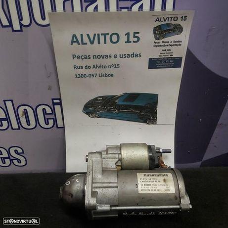 Motor arranque Bosch Punto Abarth Fiat 500 Bravo Punto Doblo Grand Punto Idea Punto Evo Tipo Ford Ka Alfa Romeu Mito Julieta Lancia Ypsilon Delta Jeep Renegade   Ref: 51916168F109  0001170401