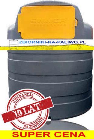 Raty !!! Zbiornik dwupłaszczowy na paliwo 1500l Swimer Eco Line