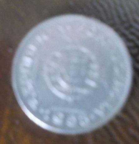 Moeda ex-colónia Angola 2$50 de 1953