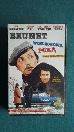 Brunet wieczorową porą kaseta VHS video, zafoliowana, Stanisław Bareja