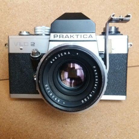 Aparat fotograficzny PRAKTICA VLC 2. Obiektyw Pancolar 1.8/50