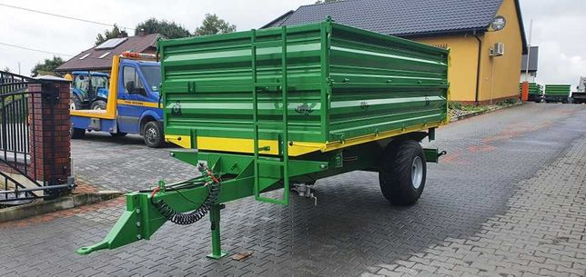 Przyczepa jednoosiowa 5 ton MARPOL Marcin Kubik