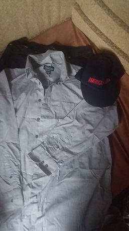 джинси утеплені, сорочка, рубашка, кепка набір