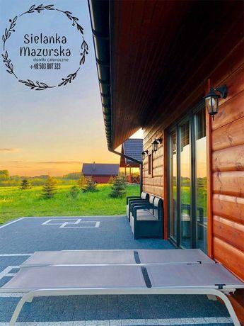Sauna/Domek nad jeziorem/Mazury/Jezioro