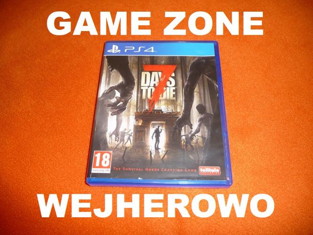 7 Days to Die PS4 + Slim + Pro = PŁYTA PL Wejherowo = Zoombie