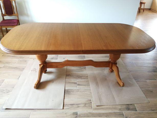 Laminowany, rozkładany stół 210cm