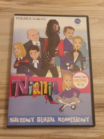 Kultowy serial  komediowy na DVD Niania