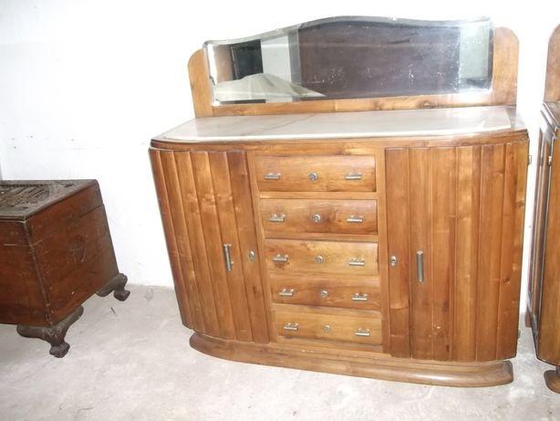 Movel antigo Louceiro vintage em madeira