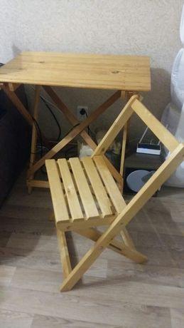 Раскладные стулья деревянные.Стулья для дома и сада.Мебель для пикника