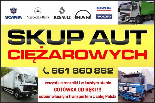 Skup Aut Pojazdów Ciężarowych Samochodów  CAŁA POLSKA