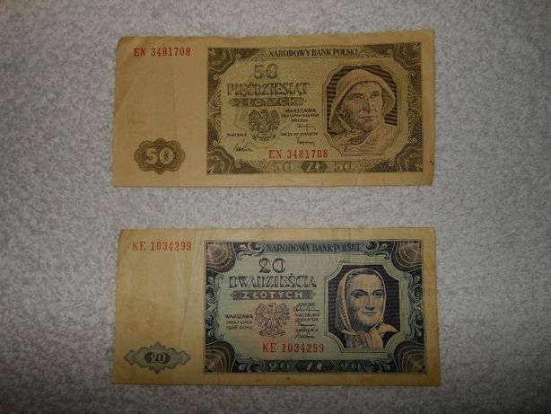 Dwa statre banknoty