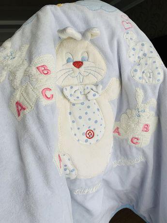 Детское одеялко 80*85 для новорожденных, story baby, Турция