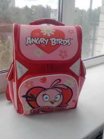 Ортопедический рюкзак ранец портфель 6-9 лет Angry Birds Stella